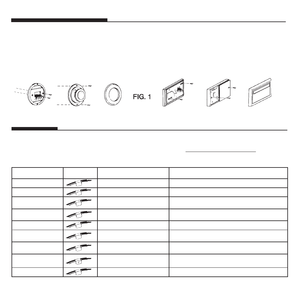 hight resolution of remove old thermostat label wires hunter fan 44428 user manual page 20 22