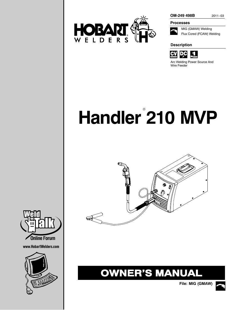 Wiring Diagram For Hobart Handler 120 Hobart Parts Wiring