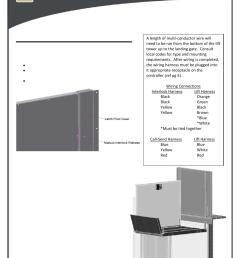 top landing gate optional harmar mobility highlander cpl1200 user manual page 13 22 [ 954 x 1235 Pixel ]