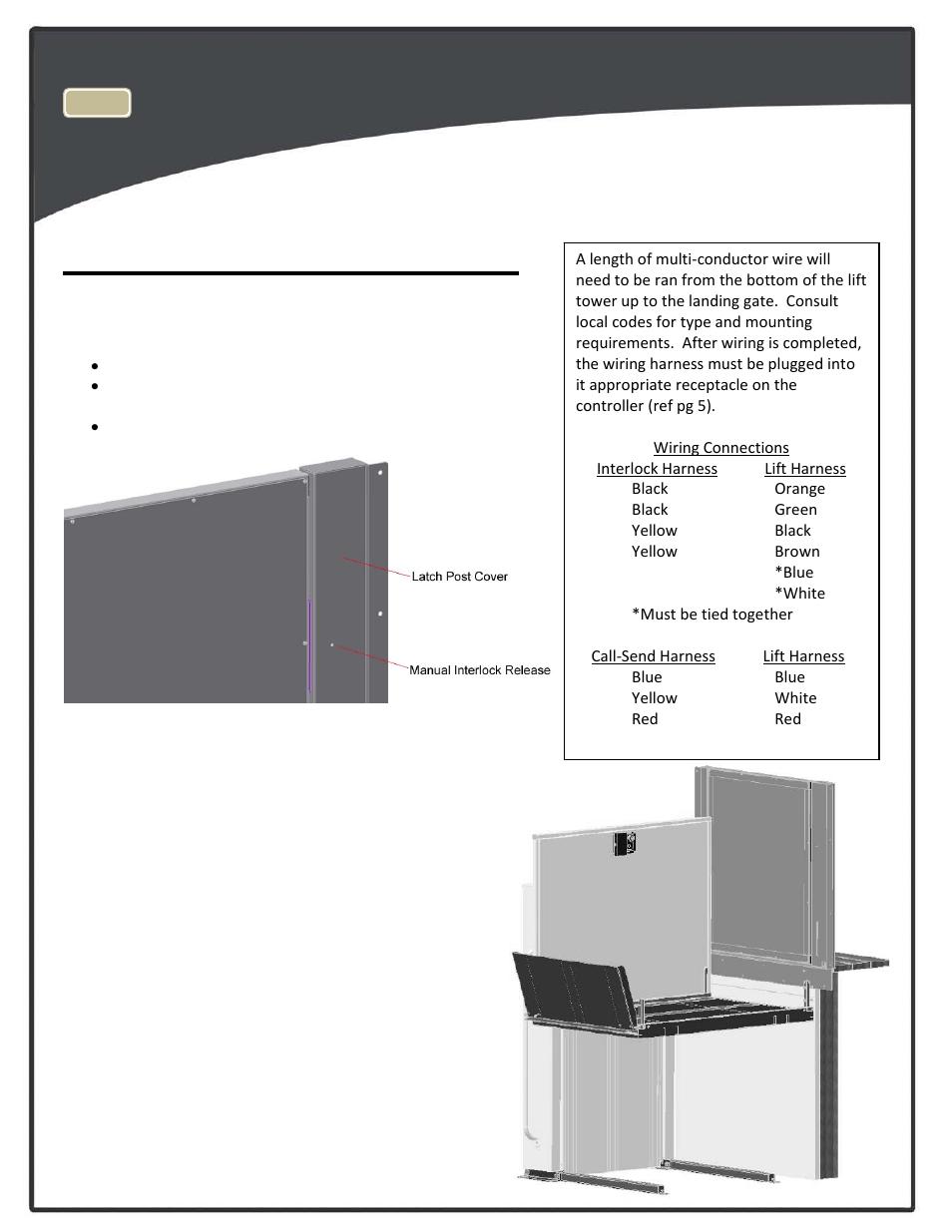 medium resolution of top landing gate optional harmar mobility highlander cpl1200 user manual page 13 22