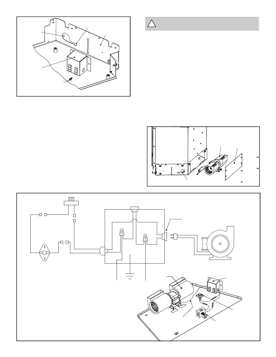 medium resolution of figure 10 fan wiring diagram warning must use the cord supplied with the j box figure 11 heat glo fireplace heat n glo fb in user manual page 20