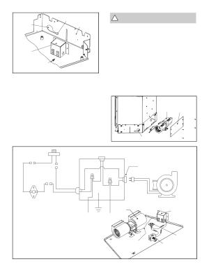 Figure 10 fan wiring diagram, Warning: must use the cord