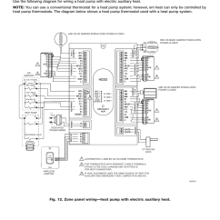 Hvac Thermostat Wiring Diagram Blank Skull To Label Heat Pump, Installation Guide, Connect Power | Honeywell Truezone Hz322 User Manual Page 8 / 12