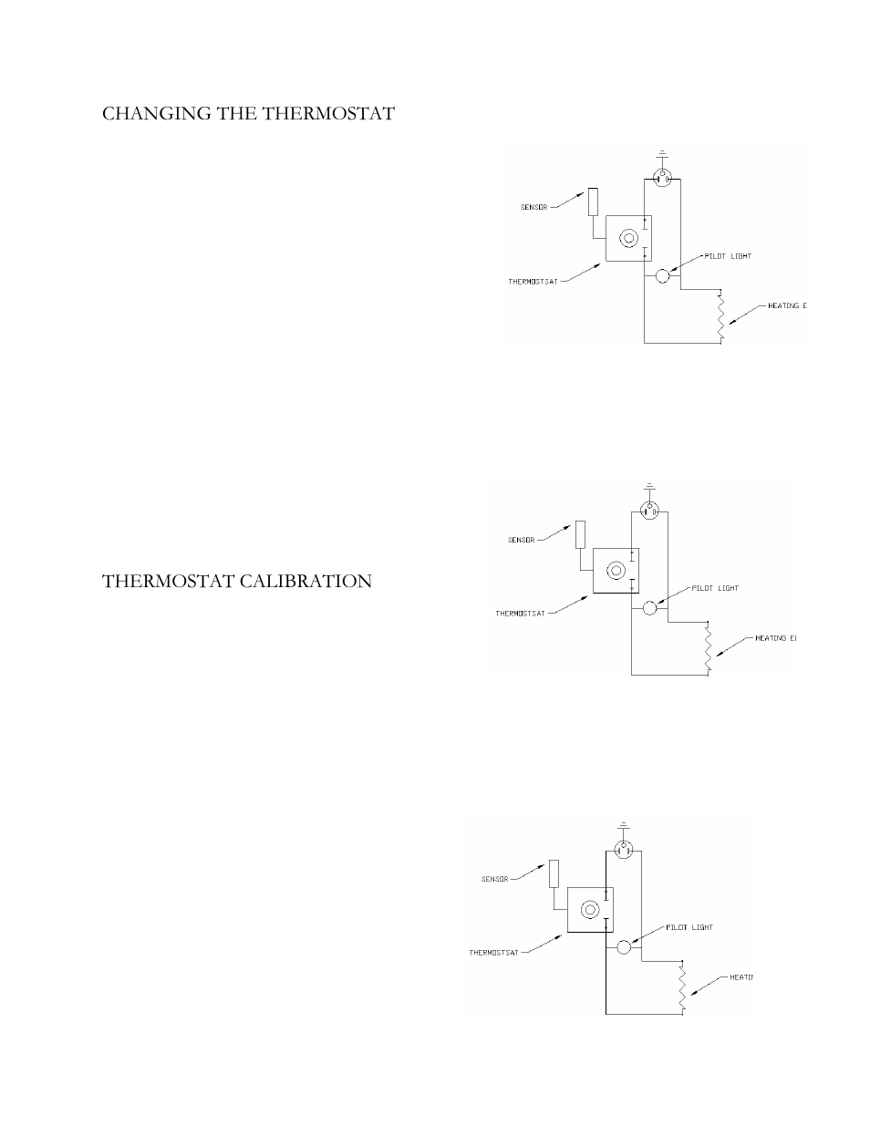 medium resolution of changing the thermostat thermostat calibration henkel keen ovens k 450 user manual page 6 8