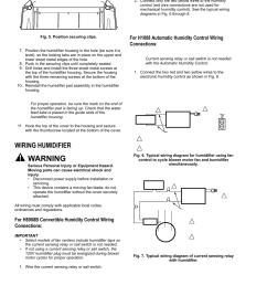 warning wiring humidifier honeywell enviracaire he365b user manual page 4 12 [ 954 x 1235 Pixel ]