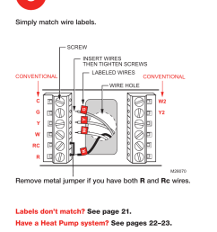 connect wires honeywell rth7600 user manual page 8 60 rh manualsdir com honeywell rth7600 troubleshooting honeywell thermostat wiring diagram [ 954 x 1500 Pixel ]