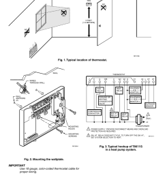 t8611g chronotherm iv deluxe programmable heat pump thermostats honeywell t8611g thermostat wiring diagram [ 954 x 1475 Pixel ]