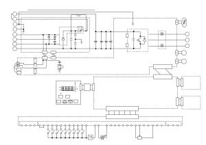 Sj300150220lfl300p185300lf circuit diagram | Hitachi SJ300 User Manual | Page 43  76