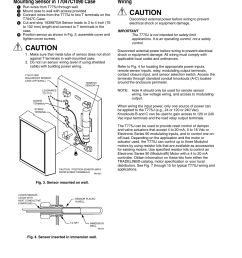 caution wiring honeywell electronic remote temperature controller t775j user manual page 4 20 [ 954 x 1235 Pixel ]