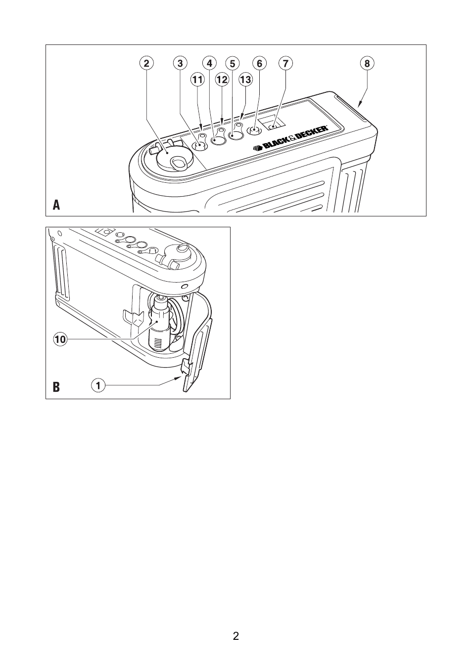 Инструкция по эксплуатации Black & Decker BDV030