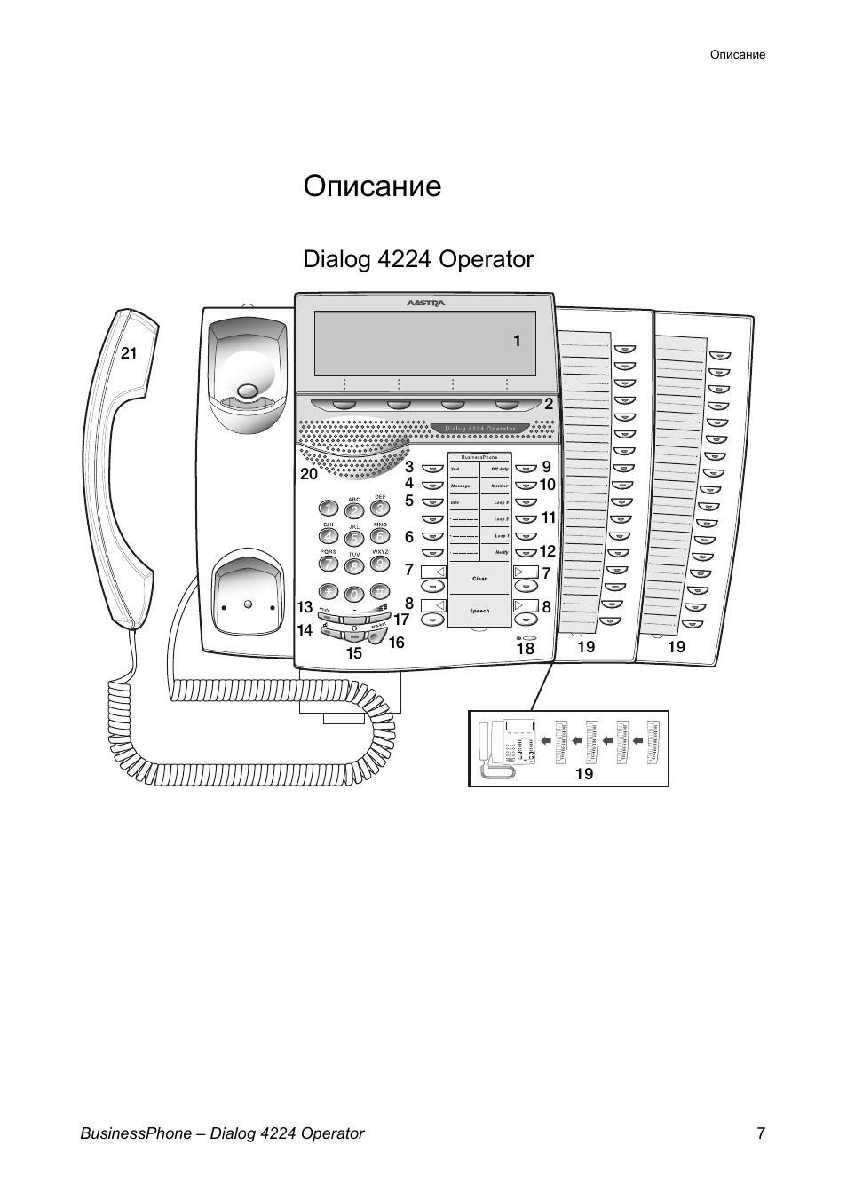 Dialog 4224 operator manual