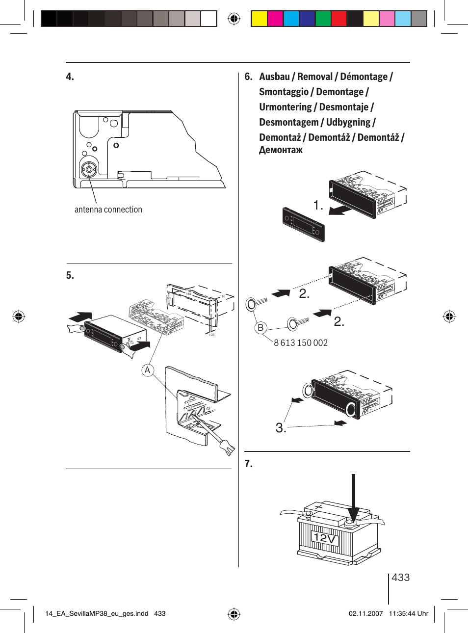 Инструкция по эксплуатации Blaupunkt SEVILLA MP38