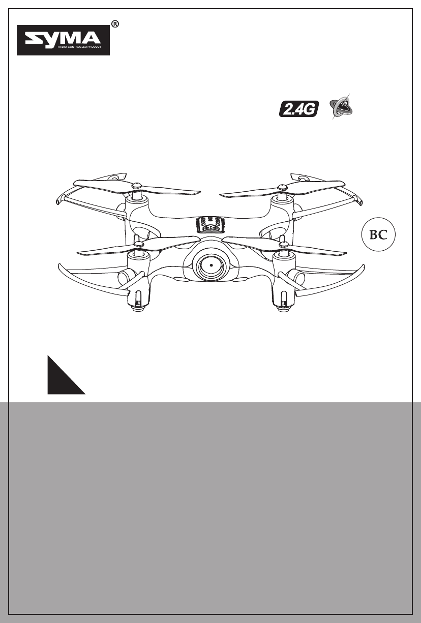 User manual Syma X20 (19 pages)