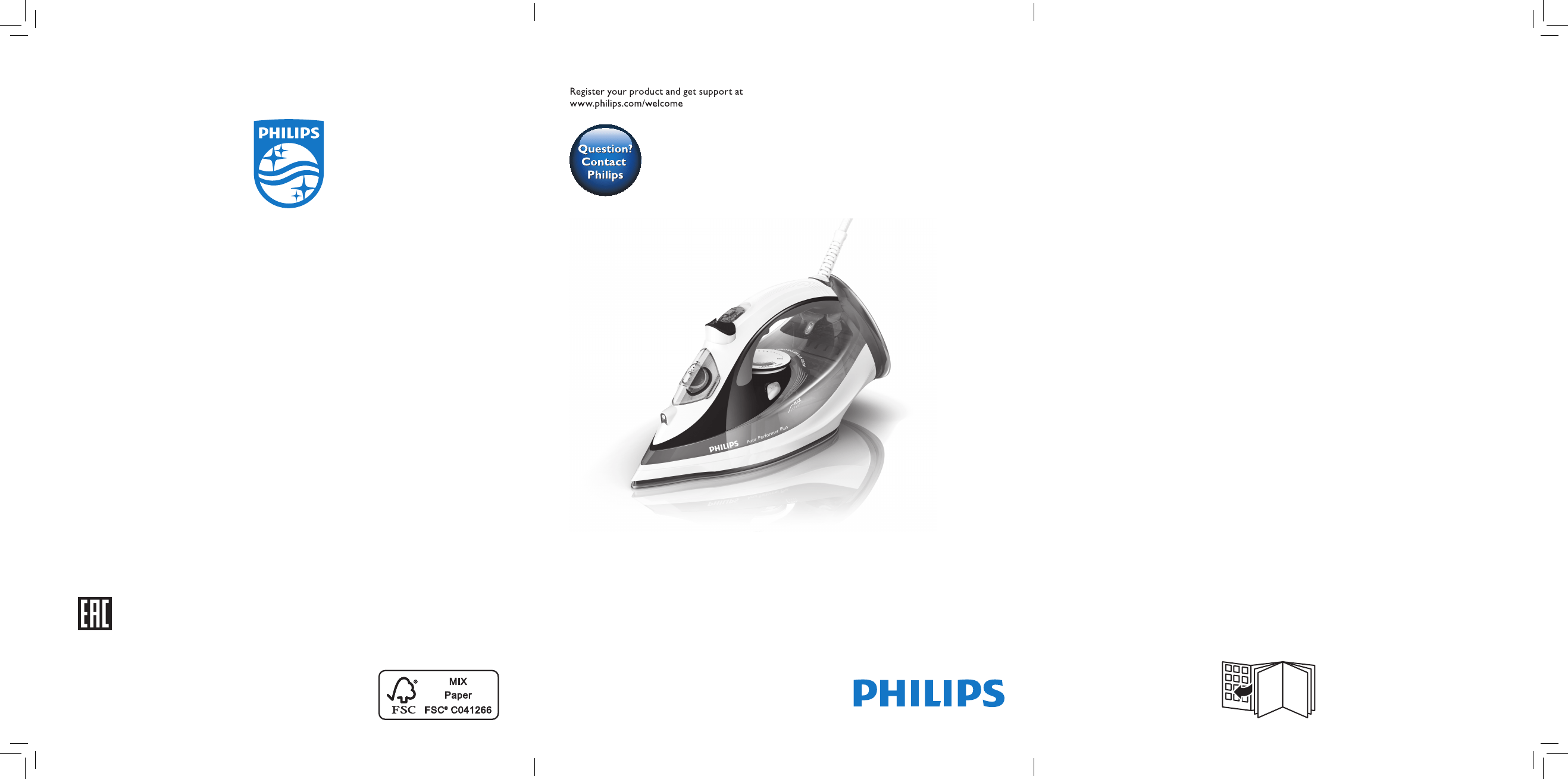 User manual Philips Azur Performer Plus GC4521 (38 pages)