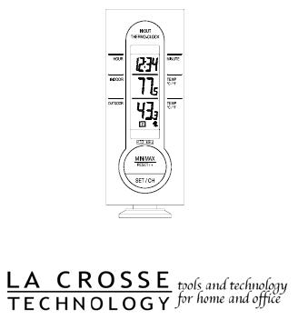User manual La Crosse Technology WS-7034TWC-IT (22 pages)