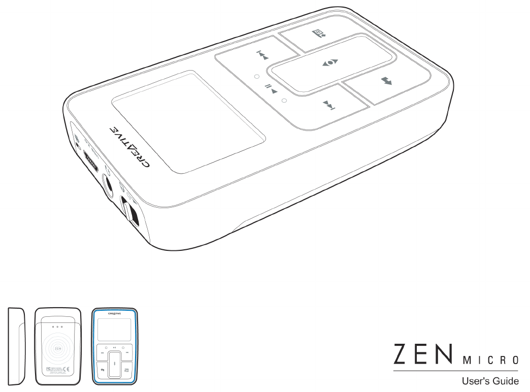 User manual Creative ZEN Micro (69 pages)