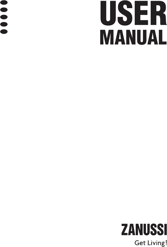 User manual Zanussi ZDT 200 (88 pages)