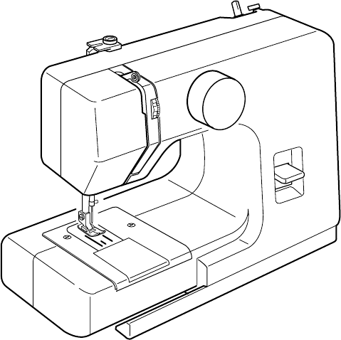 User manual Janome Sew Mini (37 pages)