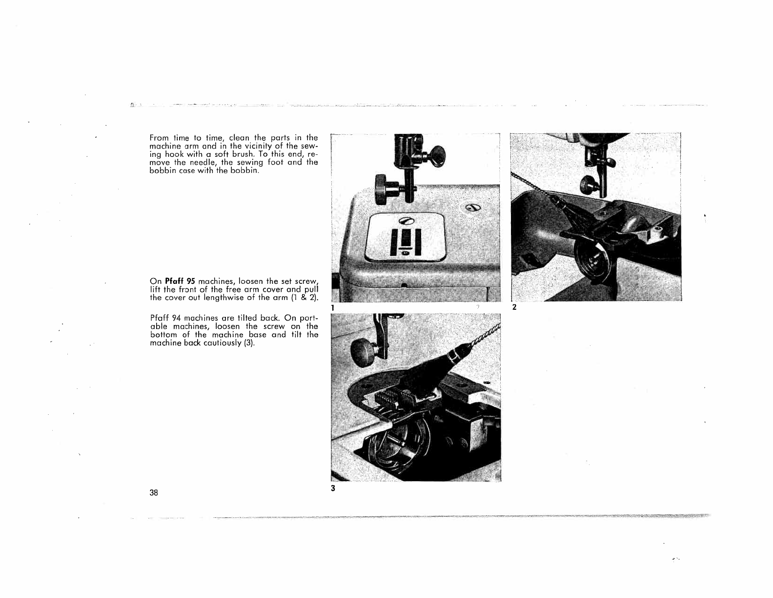 User manual Pfaff 95 (43 pages)