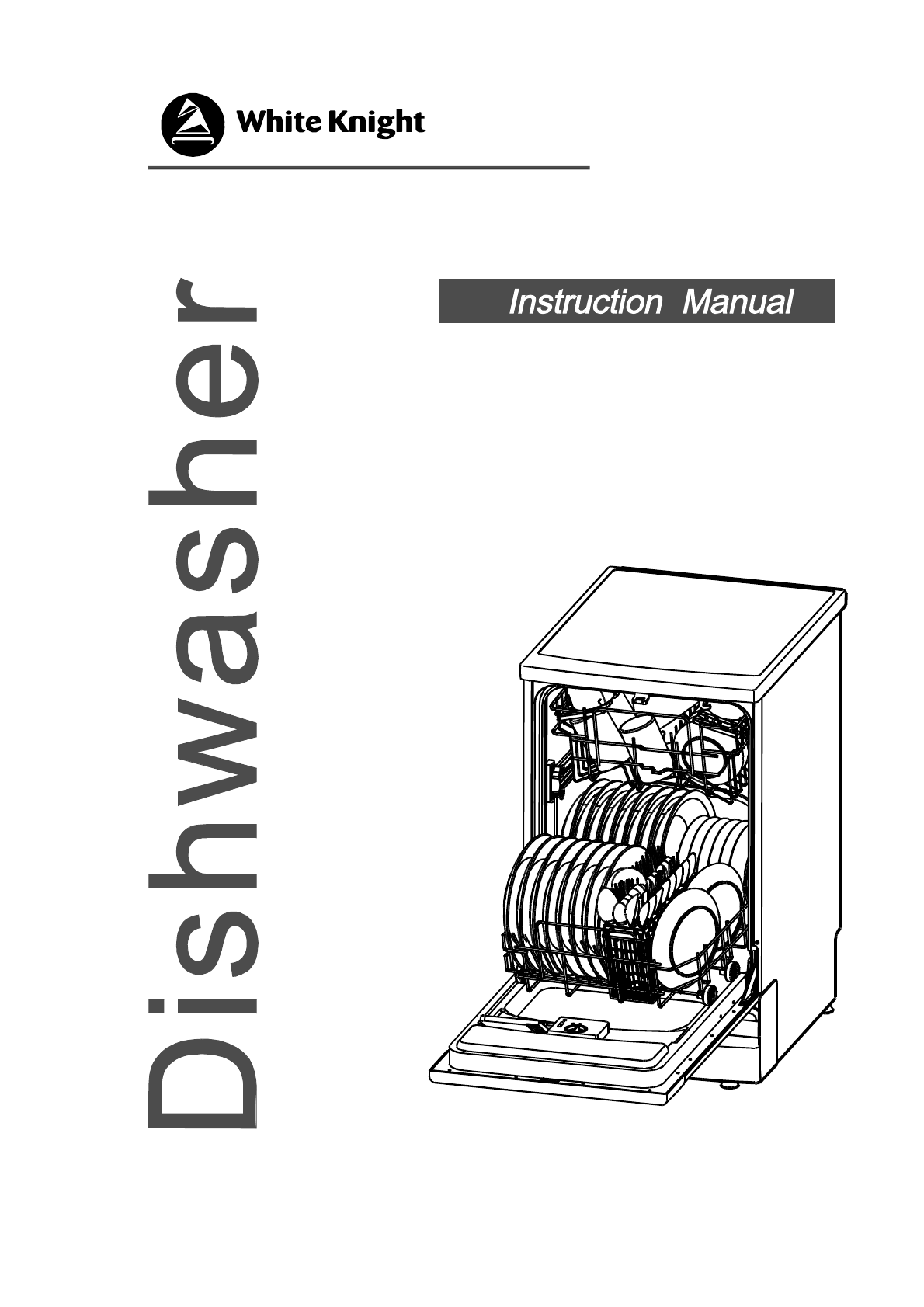 User manual White Knight DW0945WA (25 pages)