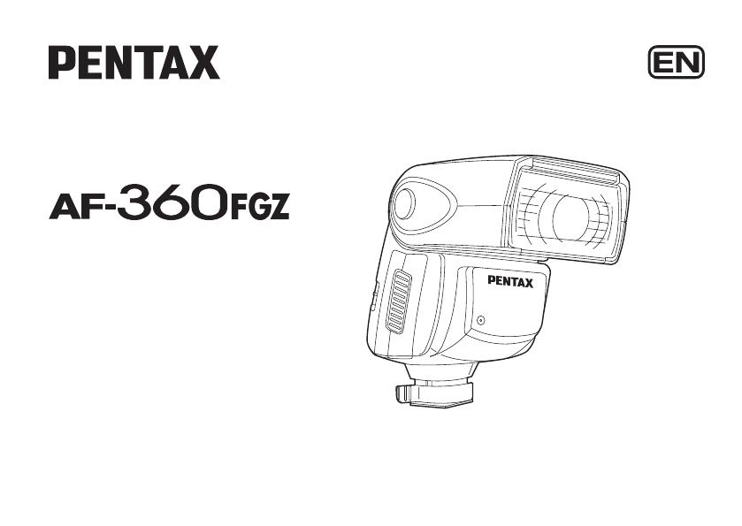 User manual Pentax AF 360 FGZ (96 pages)