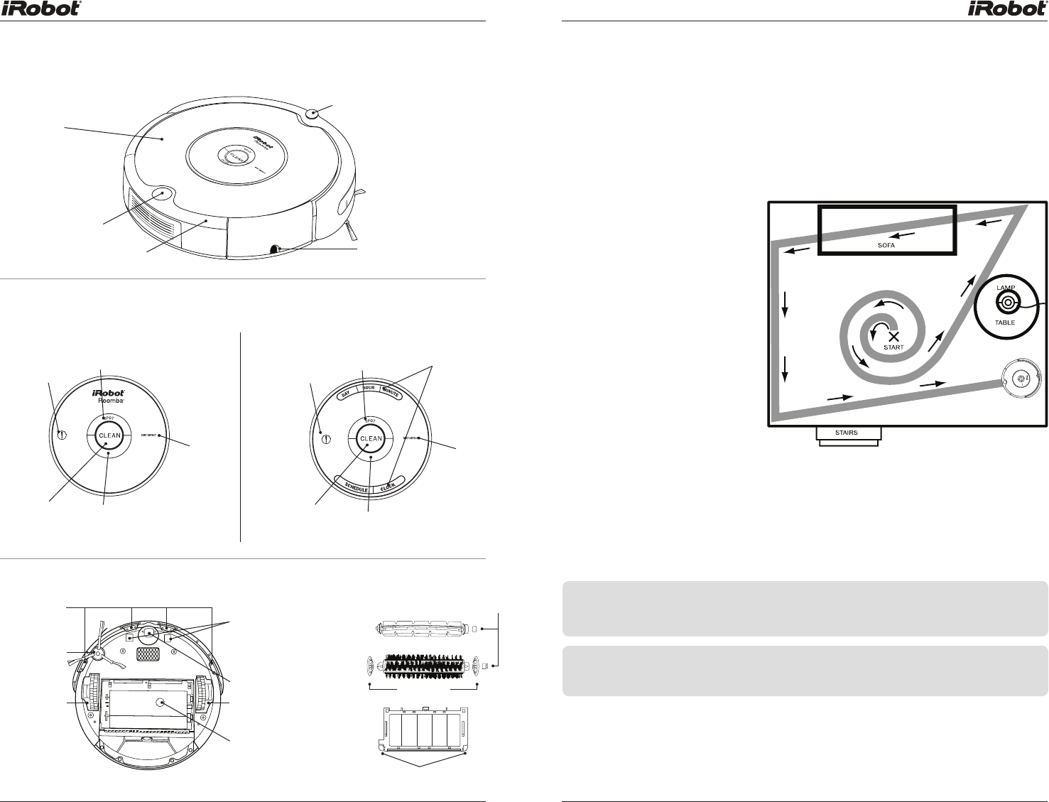 User manual iRobot Roomba 561 (19 pages)