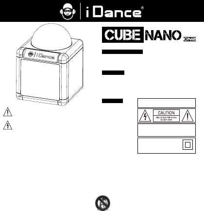 User manual iDance Cube Nano (7 pages)