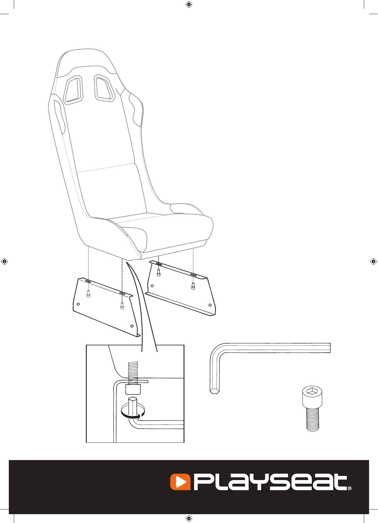 User manual Playseat Evolution (16 pages)