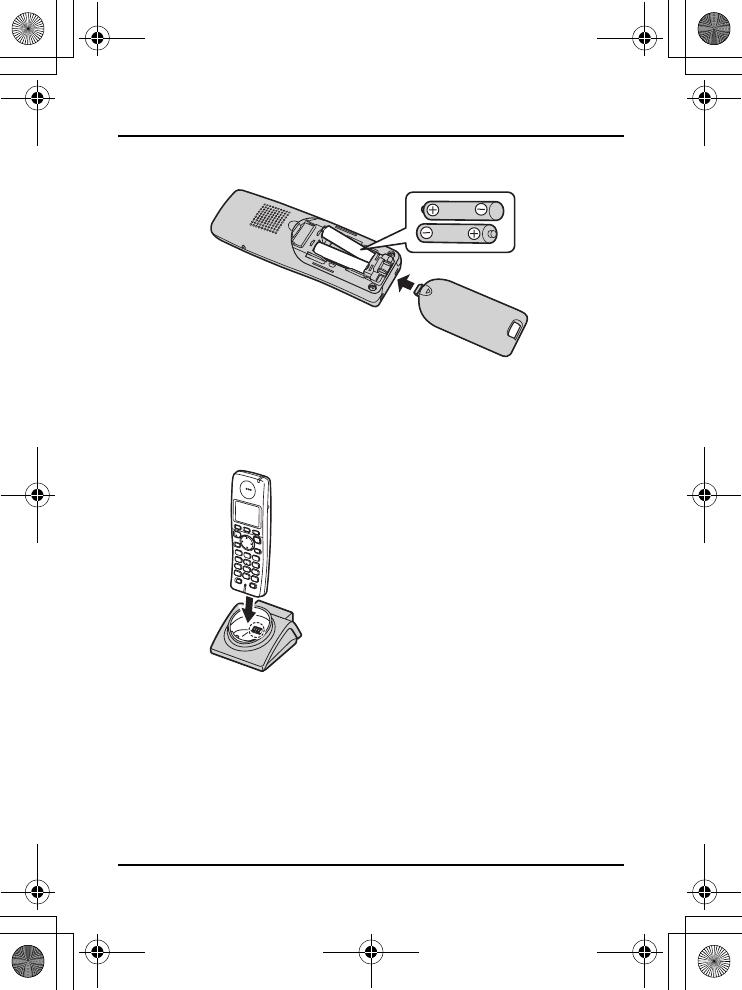 User manual Panasonic KX-TGA810E (12 pages)