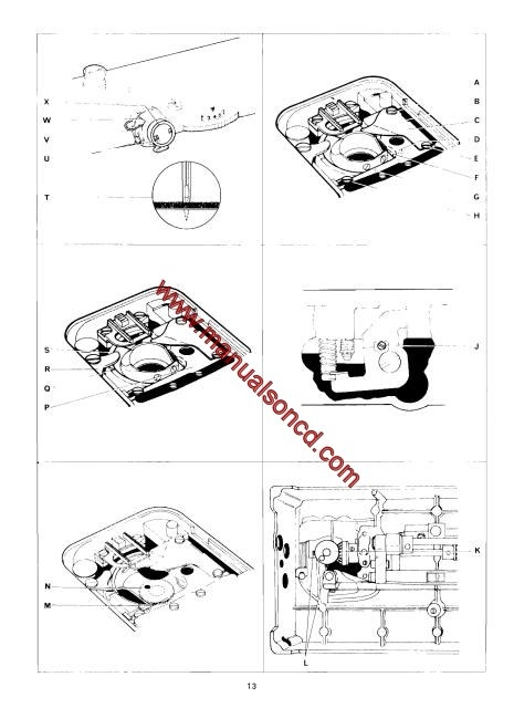 Singer 500 Series Sewing Machine Service Manual Covers