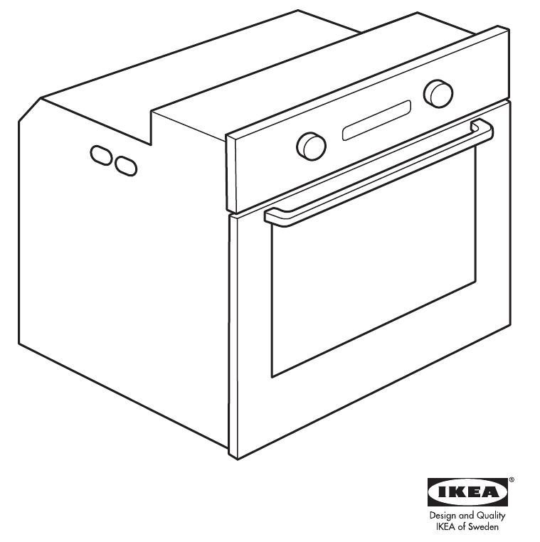 Инструкция Ikea NUTID OV9 (28 страницы)