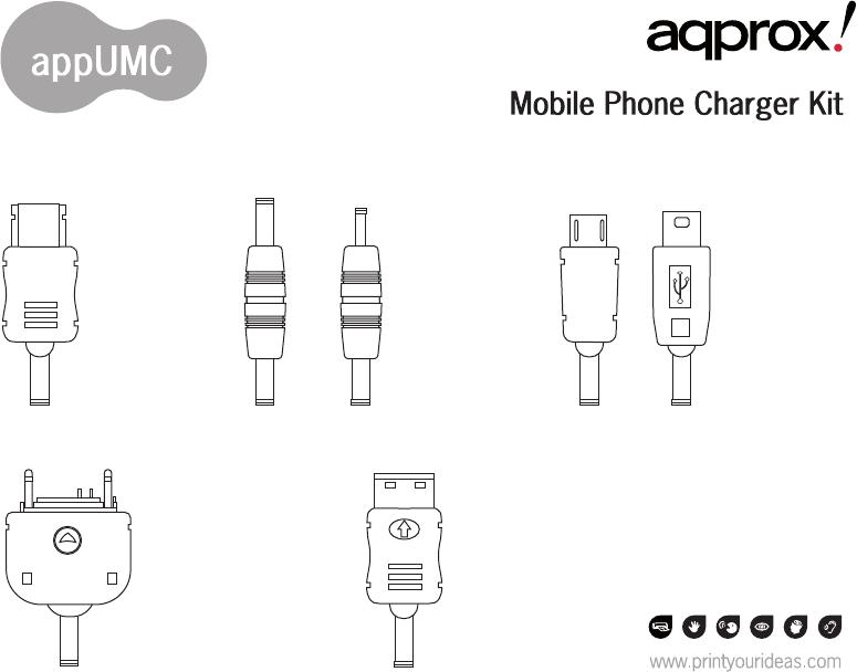 Инструкция Approx Mobile Charger (2 страницы)