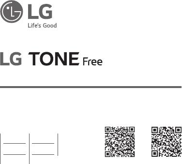 Manuál LG Tone Free HBS-FN4 návod (146 stránek)