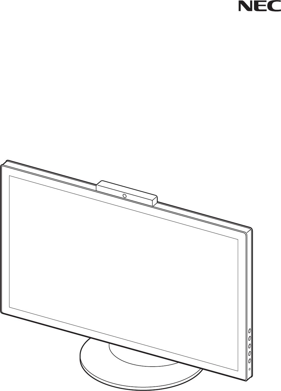 Manuál NEC MultiSync E232WMT návod (19 stránek)