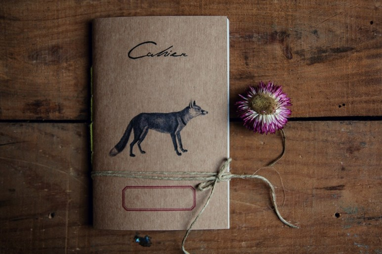 Volpe eco-friendly notebook- Woodland secrets
