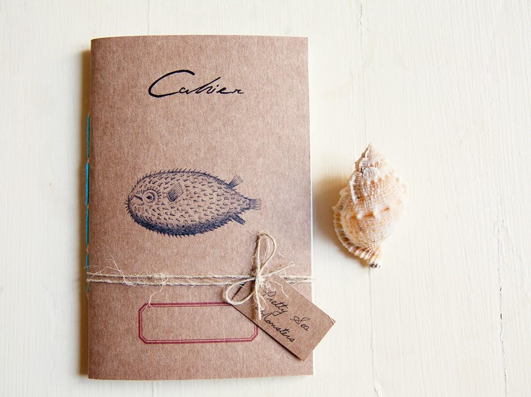 Pesce palla notebook - Pretty sea monsters