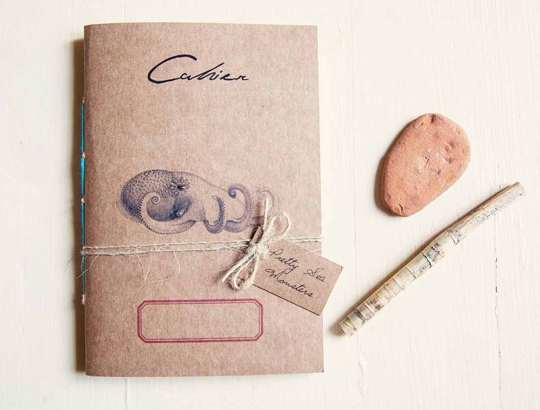 Polpo notebook - Pretty sea monsters