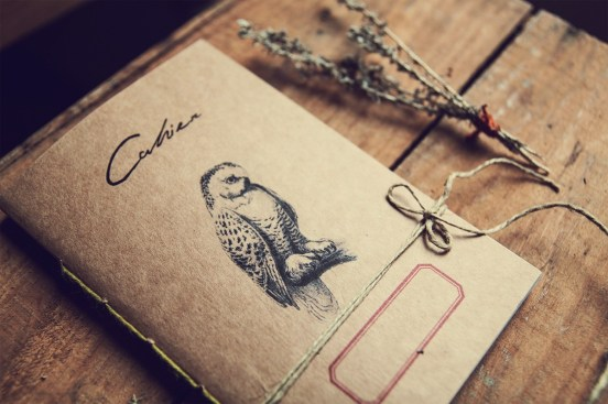 Gufo eco-friendly notebook - Woodland secrets