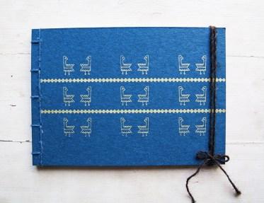 Manuche Gallinella Notebook Blue