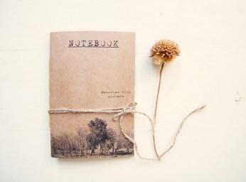 Nowhere memories notebook