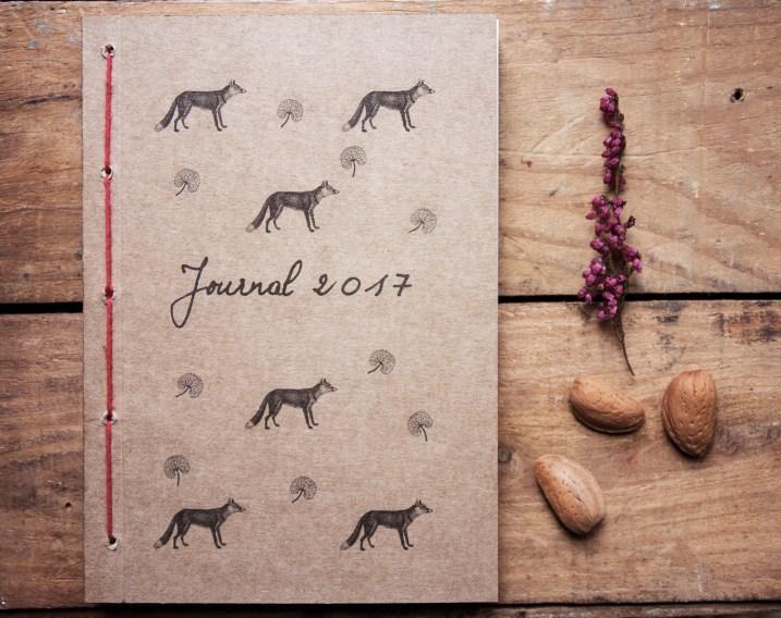 Planner 2017: illustrazione volpe