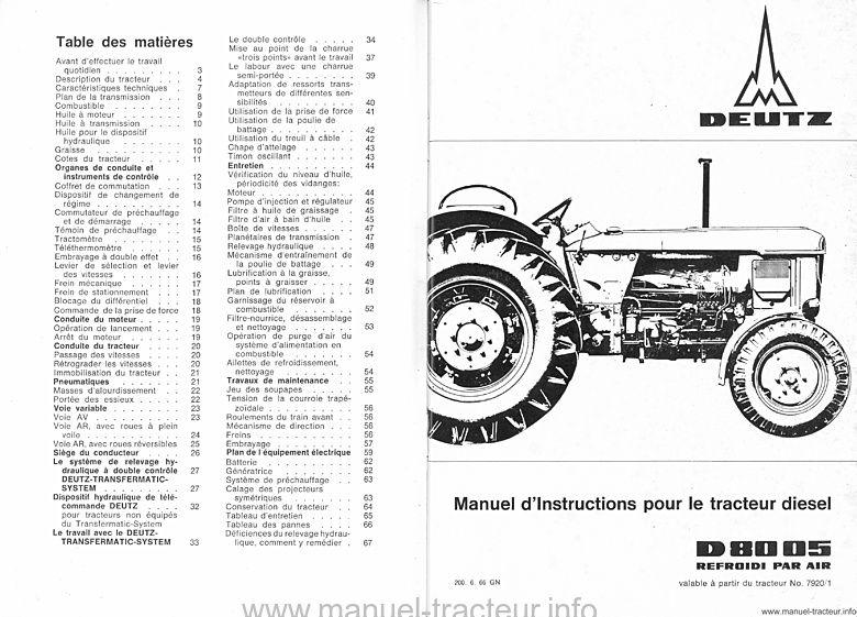 téléchargement du manuel d'instructions