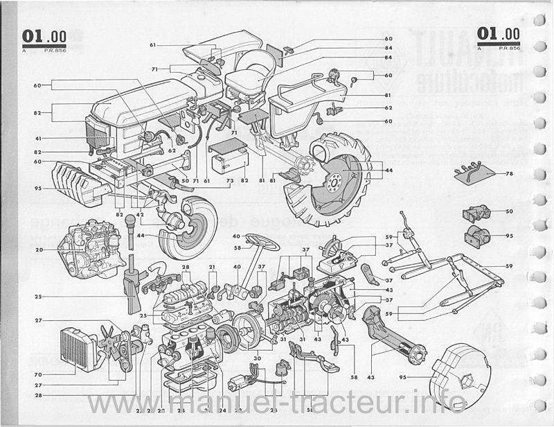 Catalogue pièces Renault Super 2D
