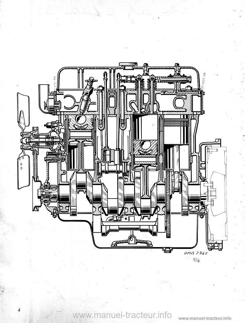 Manuel réparation moteur Renault 598