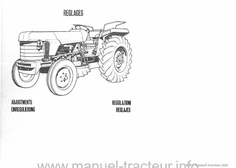Notice réparation RENAULT M.R. 95