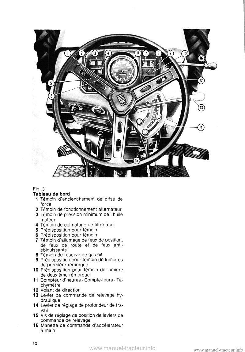 Livret entretien Same Minitaurus 60 Corsaro 70