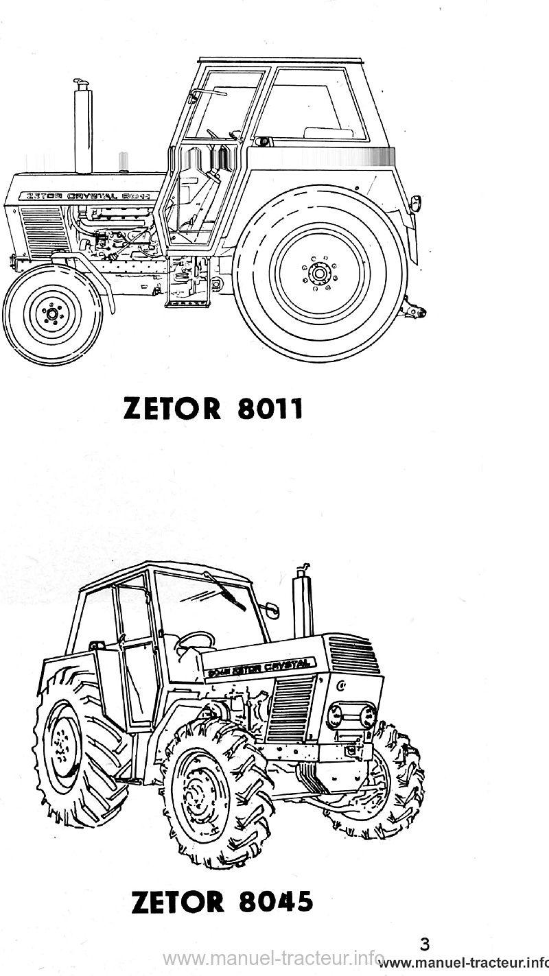 Guide entretien Zetor 8011 8045 12011 12045