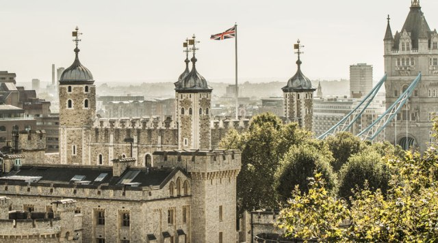 Begun in 1066 and completed in 1100, the Tower of London served as an assertion of Norman might and protection over the city. Photography courtesy Martin Morrell