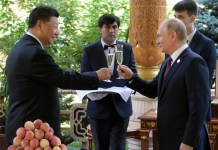 Vladimir Putin gave China's Xi Jinping ice cream for his 66th birthday