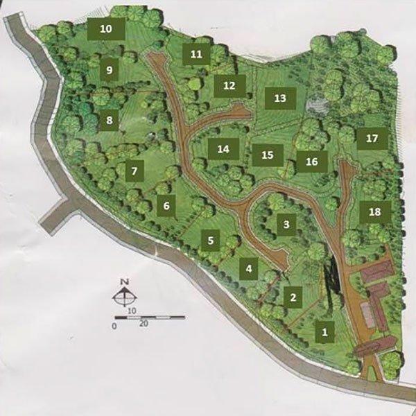La Reserva map